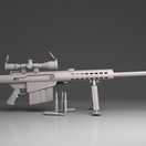 Barrett .50 Sniper Rifle